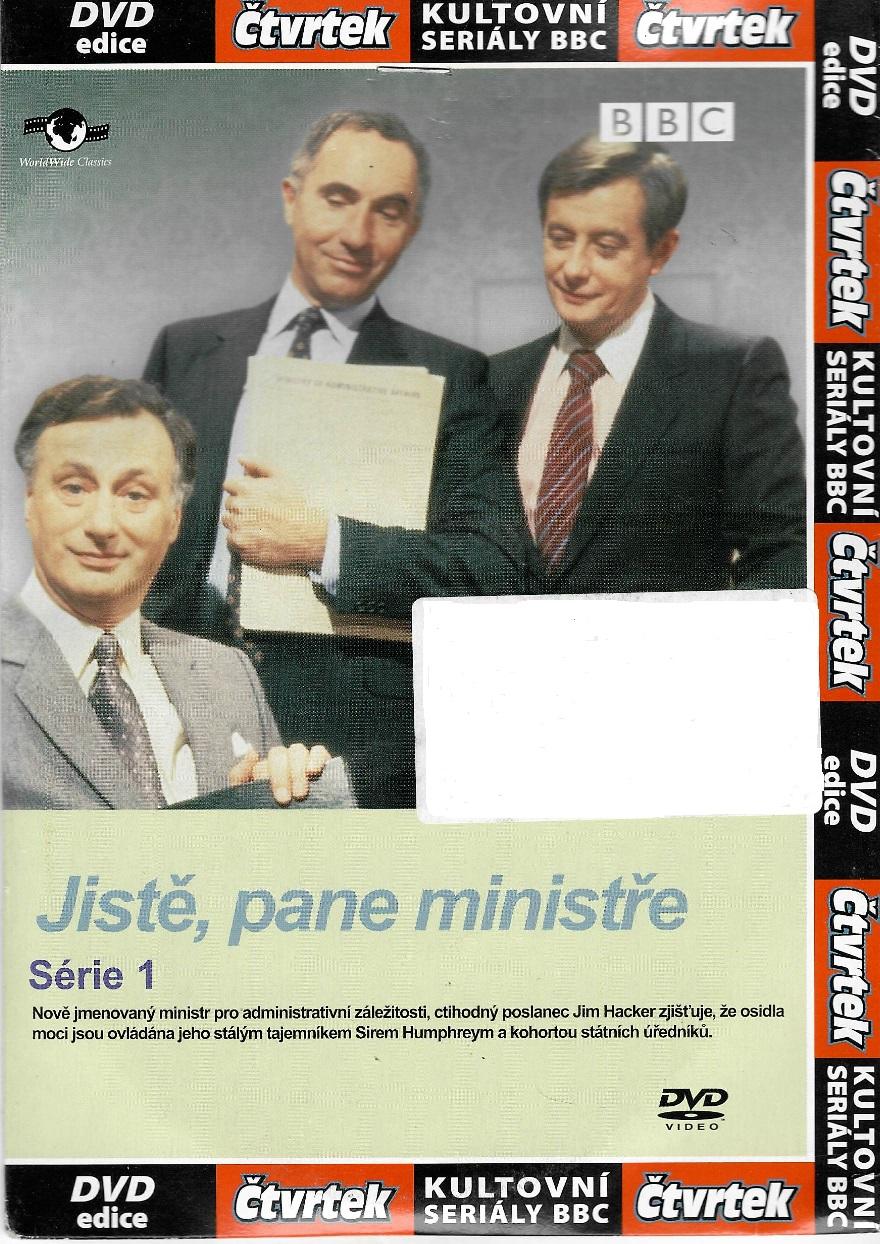 Jistě, pane ministře 1 - DVD pošetka