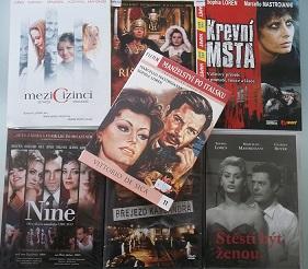 Kolekce Sophia Loren - 7 DVD