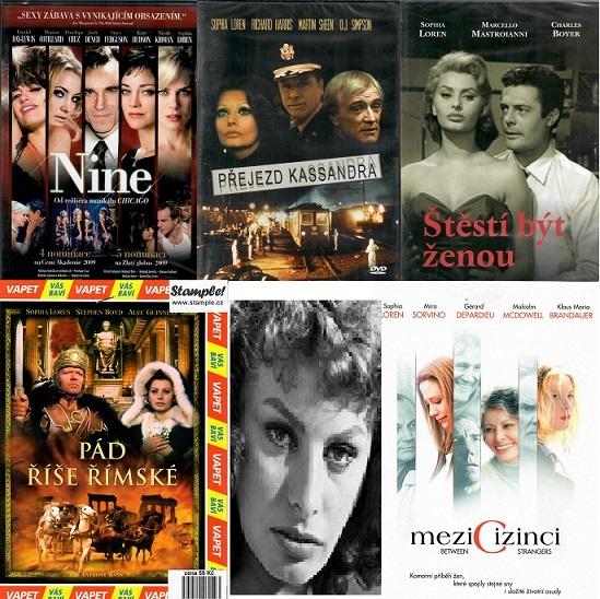 Kolekce Sophia Loren - 5 DVD