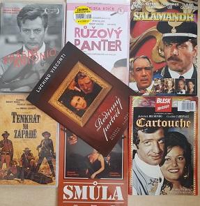 Kolekce Claudia Cardinale - 7 DVD