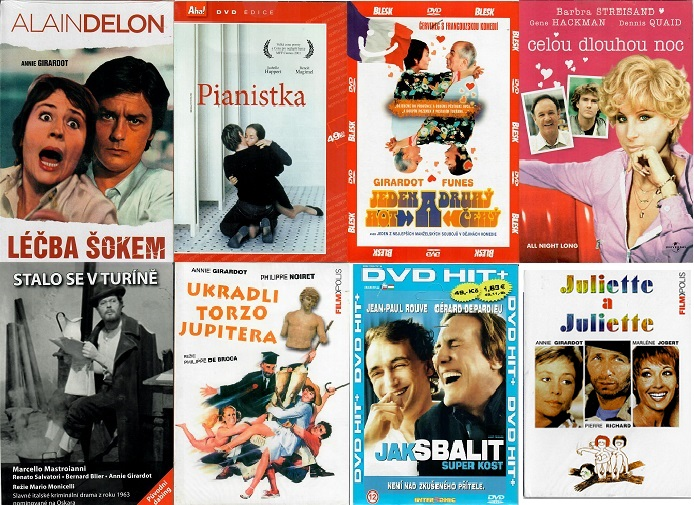 Kolekce Annie Girardot - 8 DVD