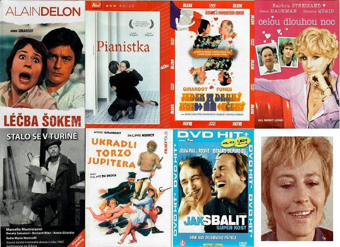 Kolekce Annie Girardot - 7 DVD