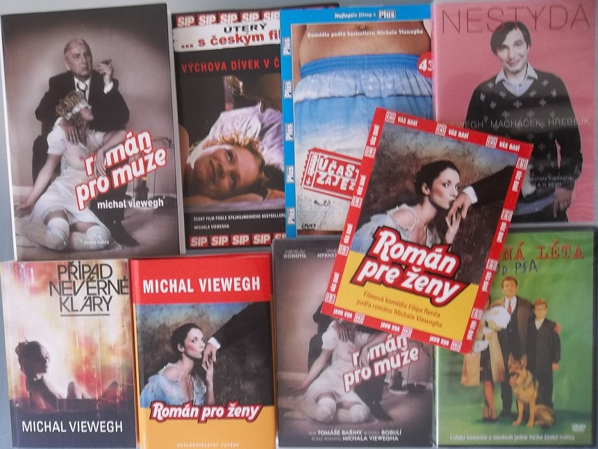 Kolekce Michal Viewegh ( 3x kniha + 6 DVD )