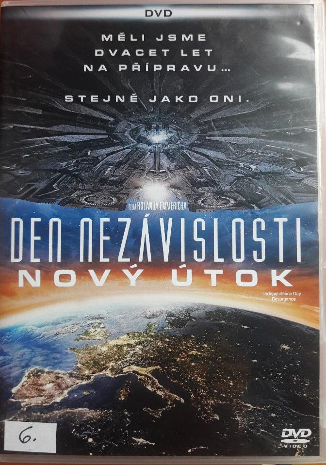 Den nezávislosti - Nový útok - DVD bazarové zboží