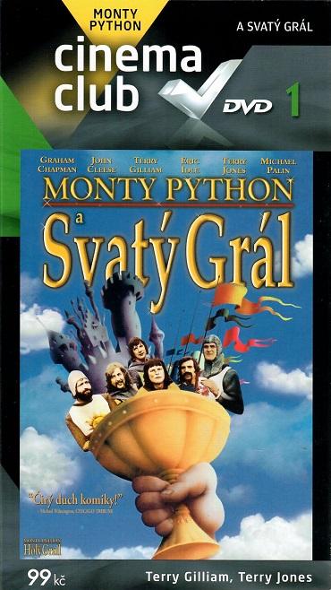 Monty Python - DVD 1 - Svatý Grál ( digipack ) - DVD