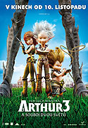 Arthur 3: a souboj dvou světů - DVD bazarové zboží