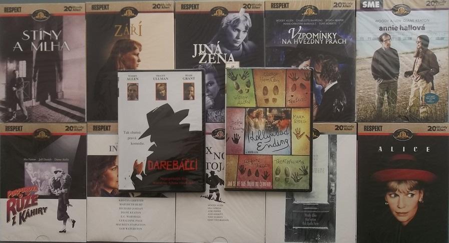 Kolekce Woody Allen 12 DVD