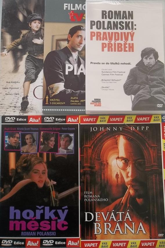 Kolekce Roman Polanski 5DVD