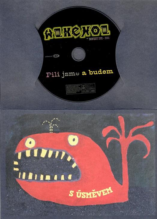 Alkehol - Pili jsme a budem ( dárkový papír obal ) - CD