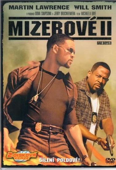 Mizerové II - DVD plast - 2-disková verze