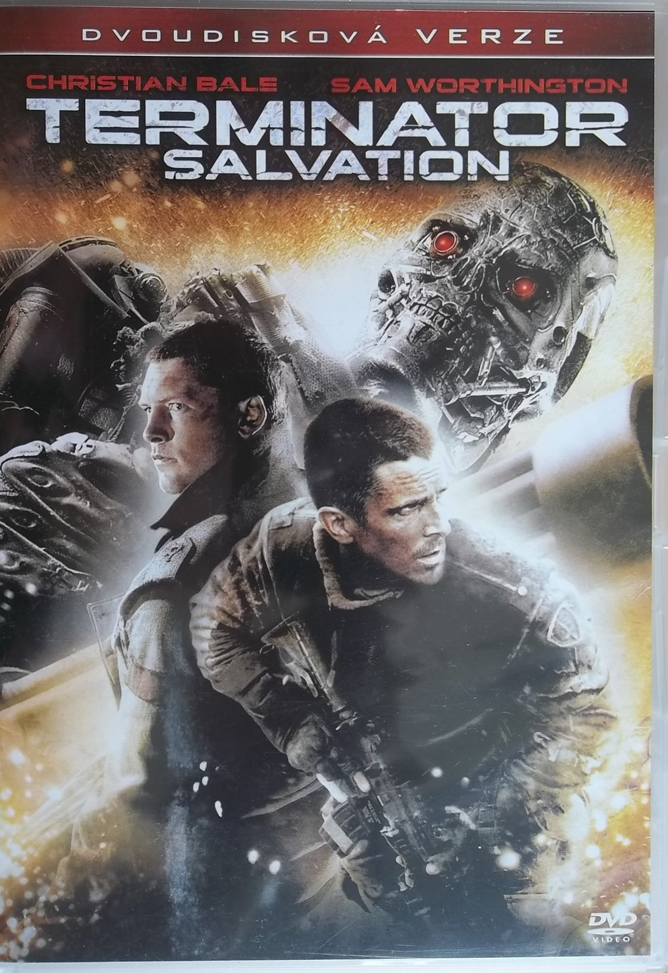 Terminator Salvation - 2 DVD - plast