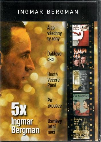 5 x Ingmar Bergman- plast