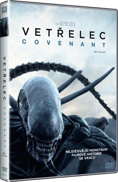 Vetřelec: Covenant DVD plast