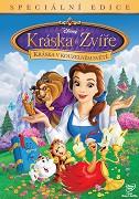 Kráska a zvíře: kráska v kouzelném světě - DVD bazarové zboží