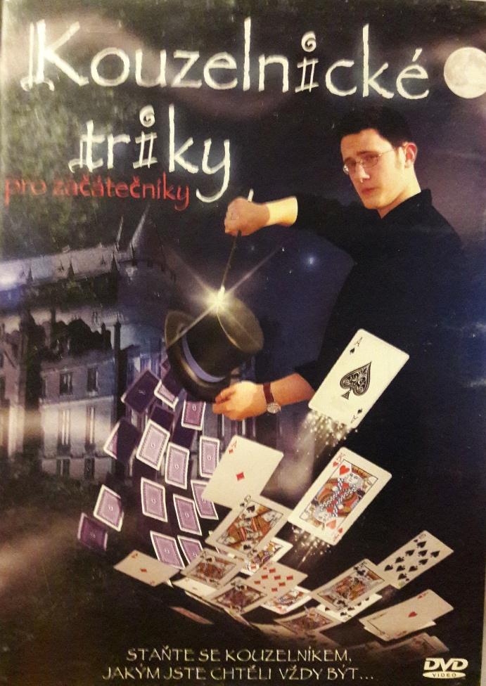 Kouzelnické triky pro začátečníky - DVD bazarové zboží