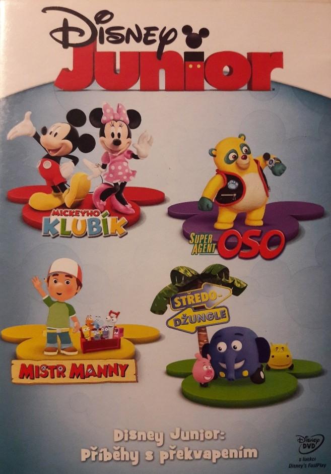 Disney Junior: příběh s překvapením - DVD bazarové zboží