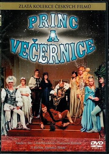 Princ a večernice ( plast ) - DVD