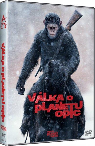 Válka o planetu opic DVD plast