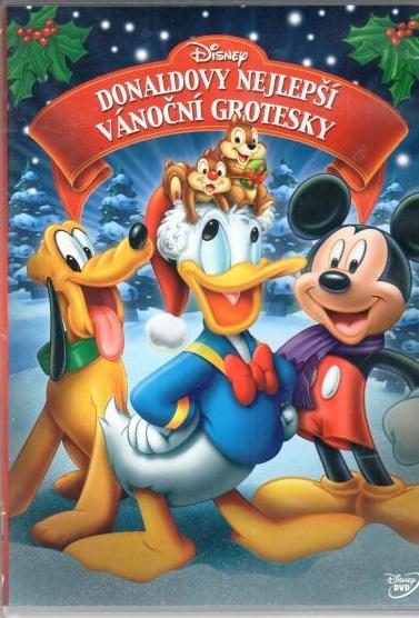 Donaldovy nejlepší vánoční grotesky  - DVD plast
