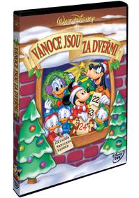 Vánoce jsou za dveřmi - DVD plast