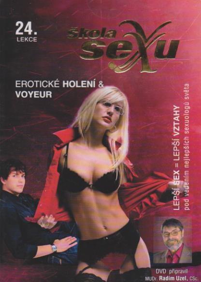 Škola sexu 24 - Erotické holení a Voyeur - DVD