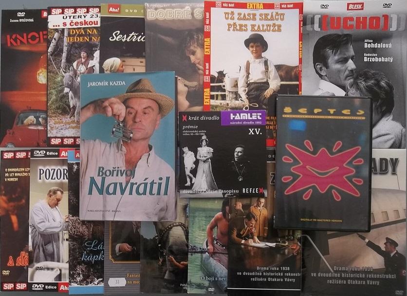 Kolekce Bořivoj Navrátil ( 1x kniha + 16 DVD )