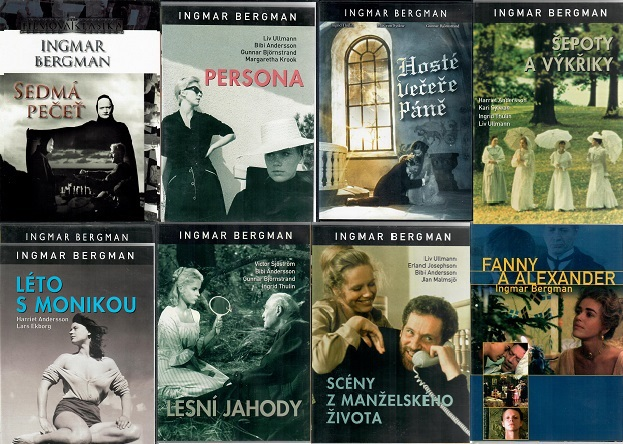 Kolekce Ingmar Bergman 8 DVD