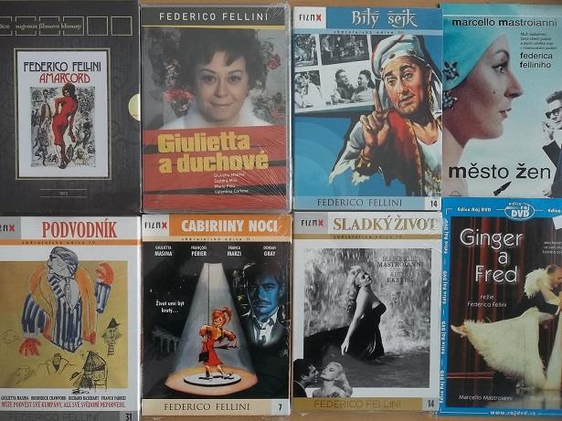 Kolekce Federico Fellini 8 DVD