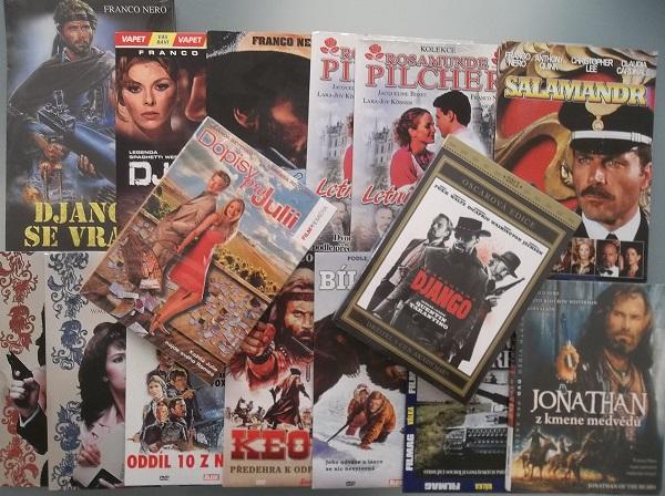 Kolekce Franco Nero 15 DVD