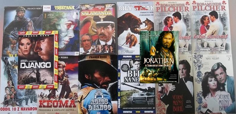 Kolekce Franco Nero 14 DVD