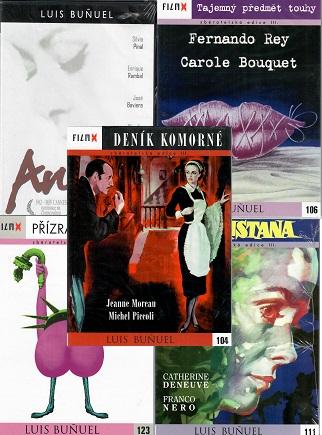 Kolekce Luis Bunuel 5 DVD /4xdigipack,1xplast/