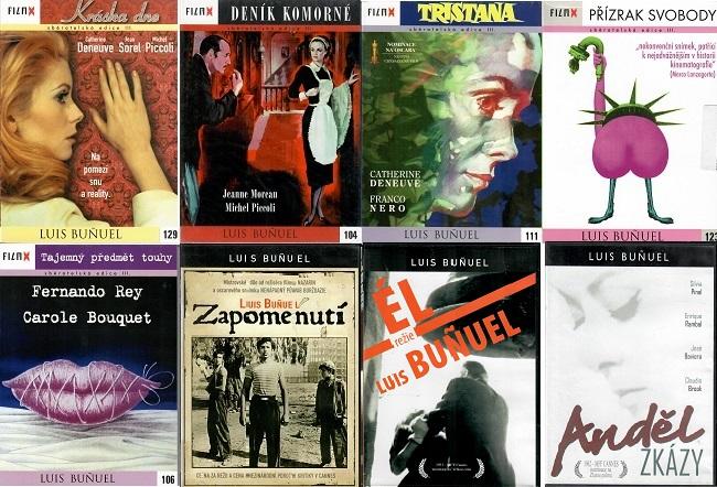 Kolekce Luis Bunuel 8 DVD /5xdigipack,3xplast/