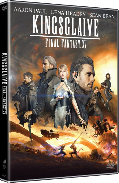 Kingsglaive: Final Fantasy XV - DVD Plast
