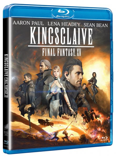 Kingsglaive: Final Fantasy XV Blu-ray