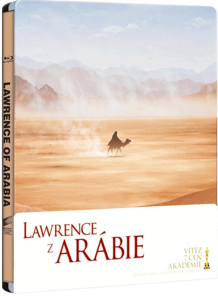 Lawrence z Arábie - Blu-ray - steelbook