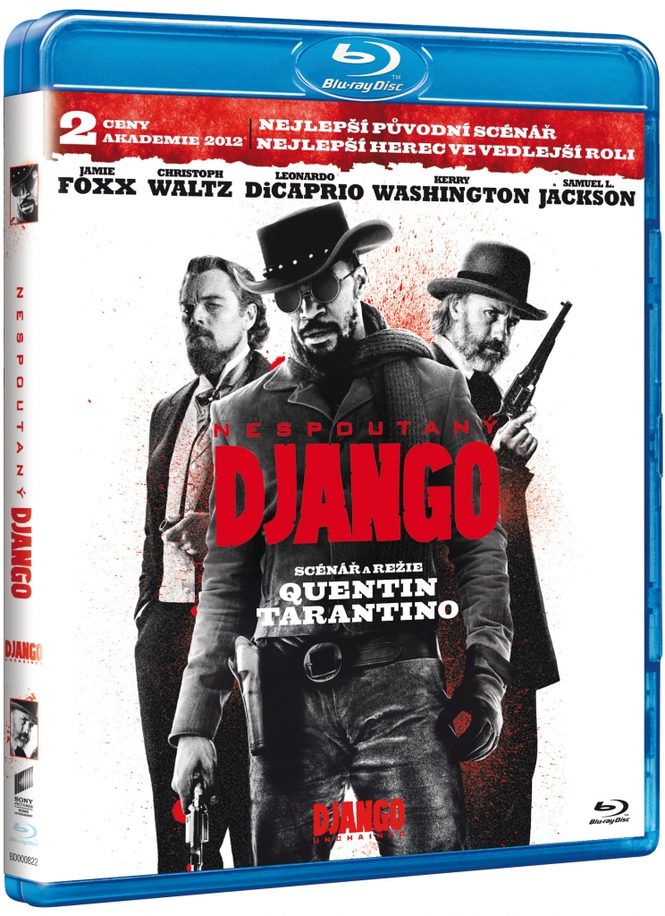 Nespoutaný Django - Blu-ray+ Soundtrack