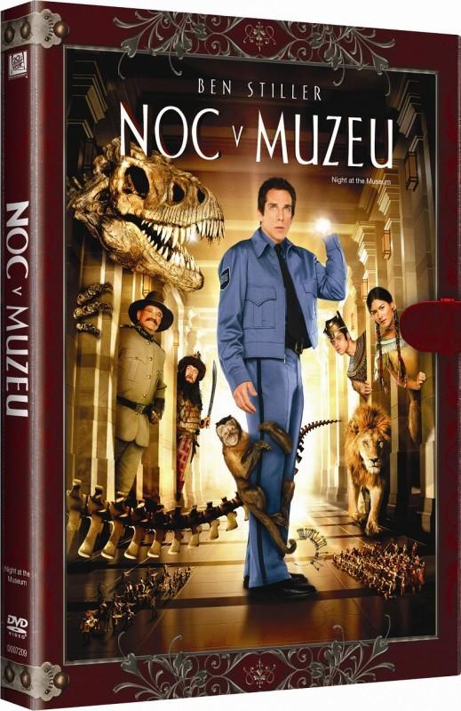 Noc v muzeu - DVD - knižní edice