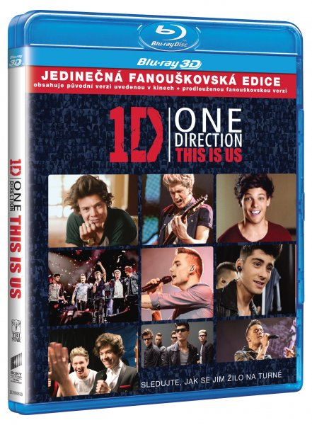 One Direction: This Is Us BD3D