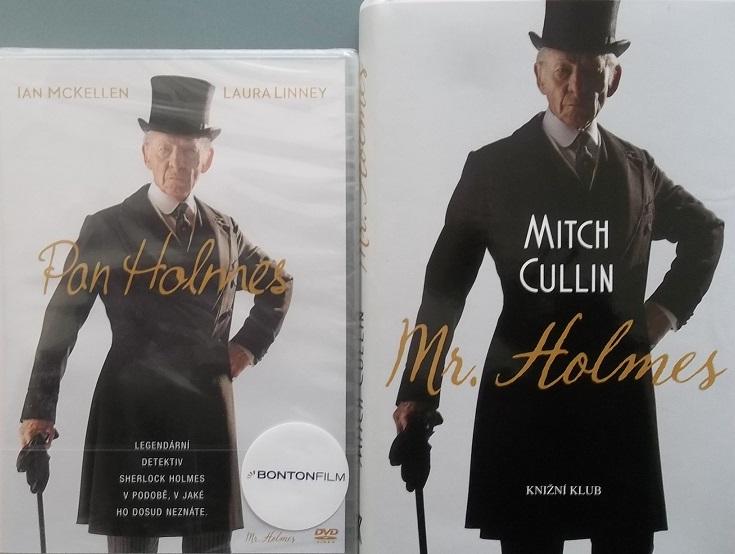 Kolekce pan Holmes ( 1x kniha + 1x DVD )