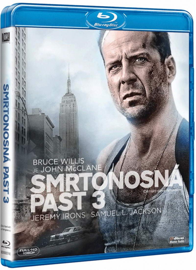 Smrtonosná past 3 - Blu-ray