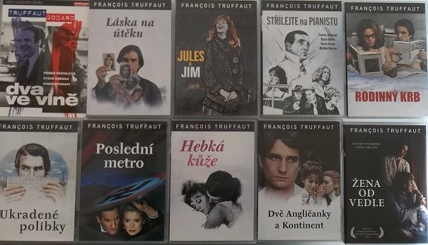 Kolekce Francois Truffaut 10 DVD /9xplast,1xdigipack/