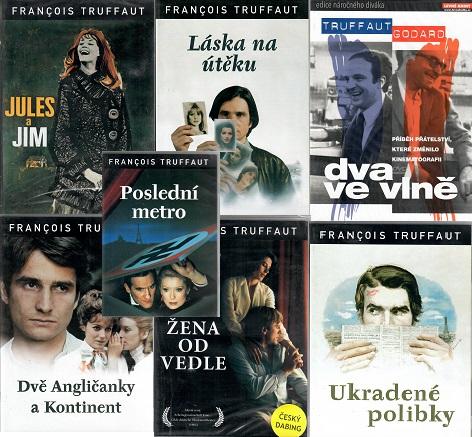 Kolekce Francois Truffaut 7 DVD (6xplast,1xdigipack )