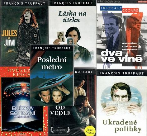 Kolekce Francois Truffaut 7 DVD
