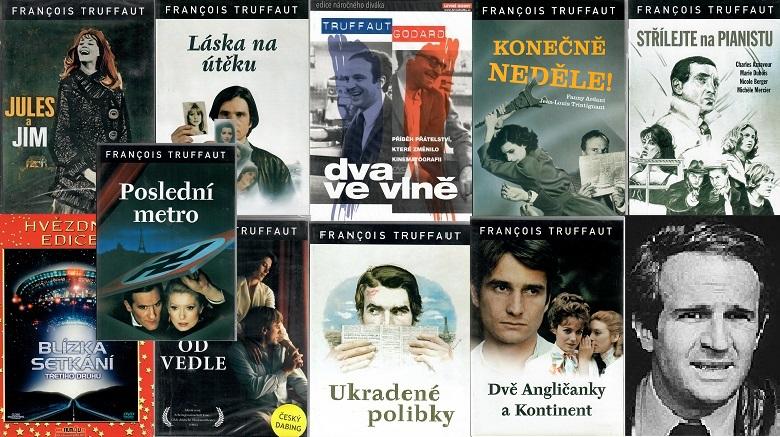 Kolekce Francois Truffaut 10 DVD