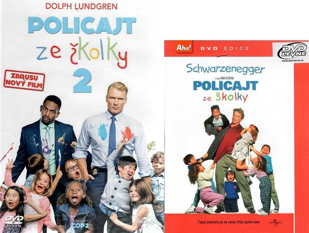 Policajt ze školky 2 ( + Dárek policajt ze školky 1 ) - DVD