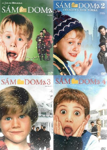 Kolekce Sám doma 4 DVD