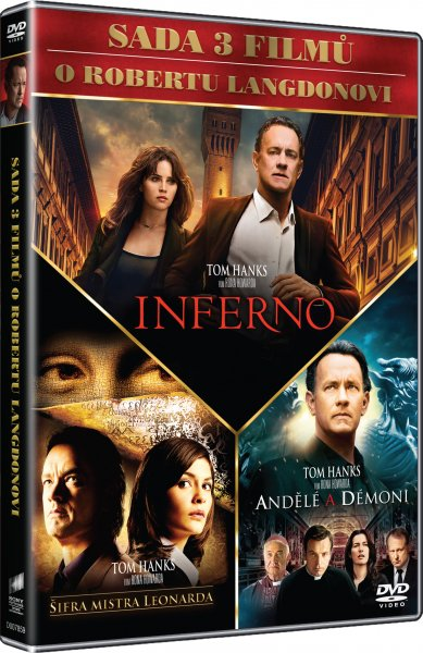 3 DVD Dan Brown DVDSE