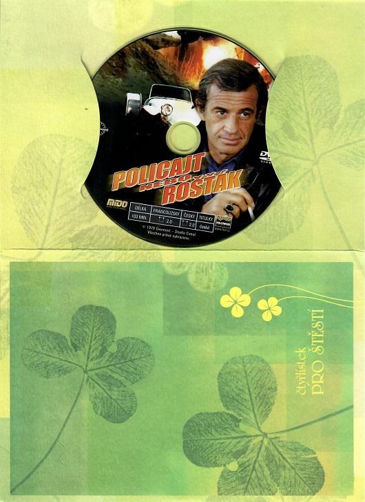 Policajt nebo rošťák ( dárkový papír obal ) - DVD