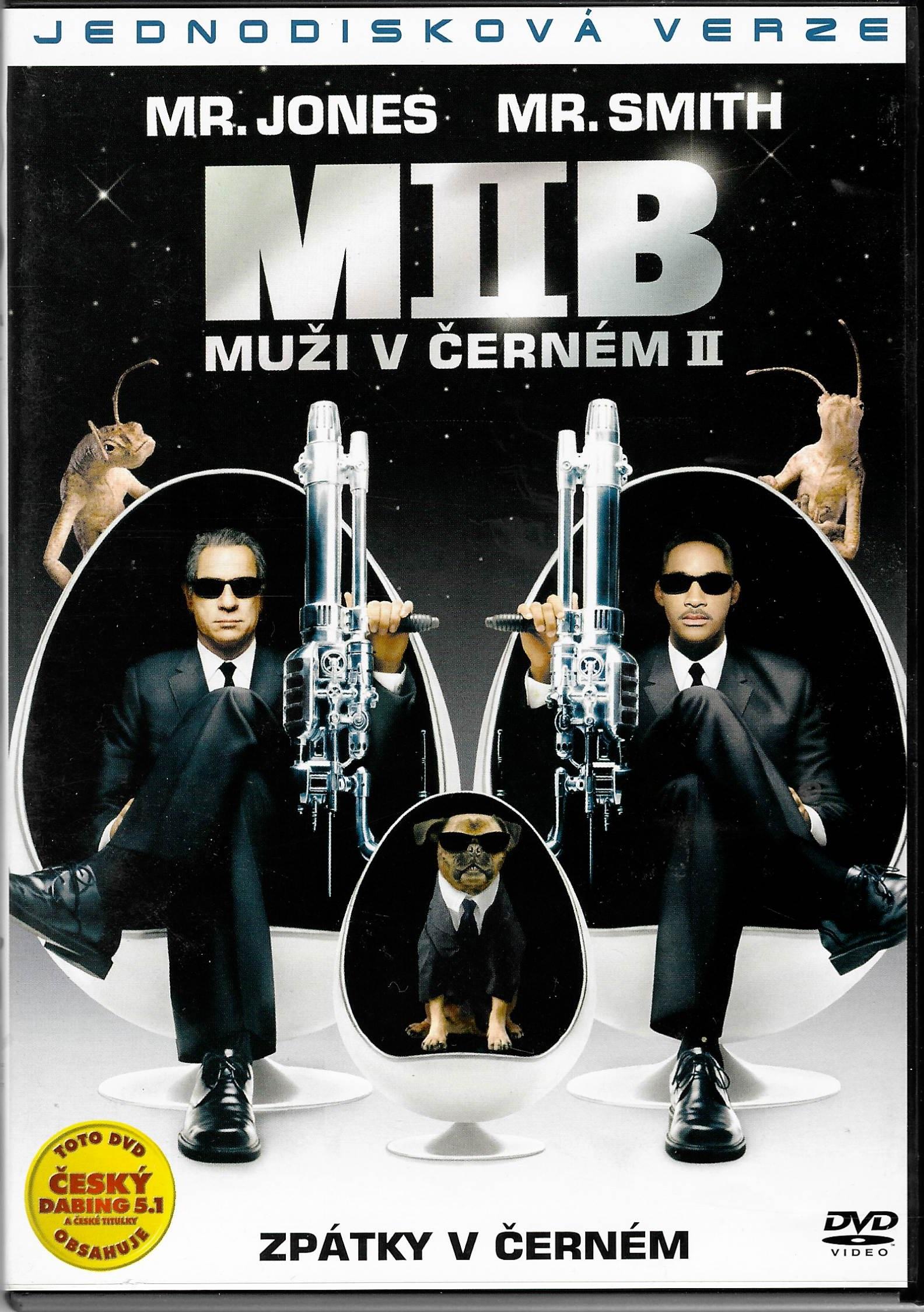 Muži v černém 2 - DVD plast