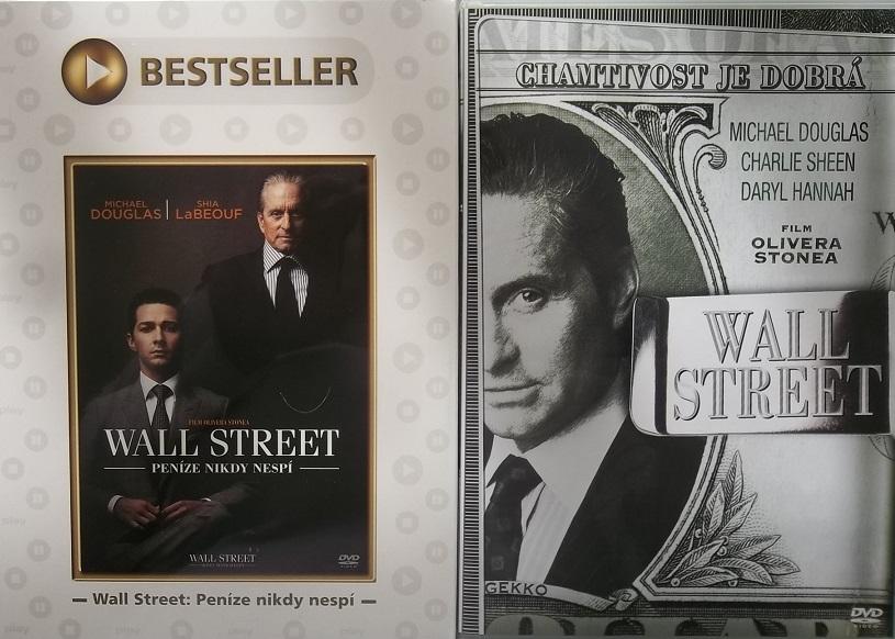 Wall Street - Peníze nikdy nespí (+DÁREK Wall street ) - DVD
